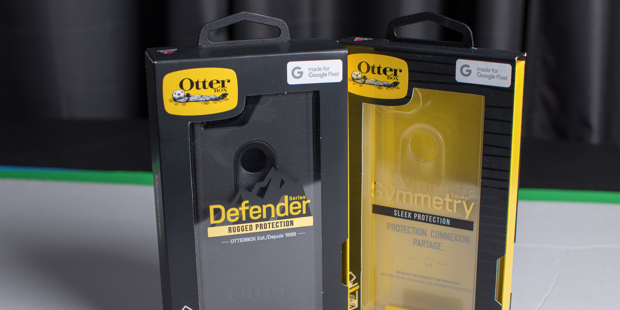 pretty nice b6cd5 4c6ec Review: OtterBox's Made for Google Defender & Symmetry Clear cases ...