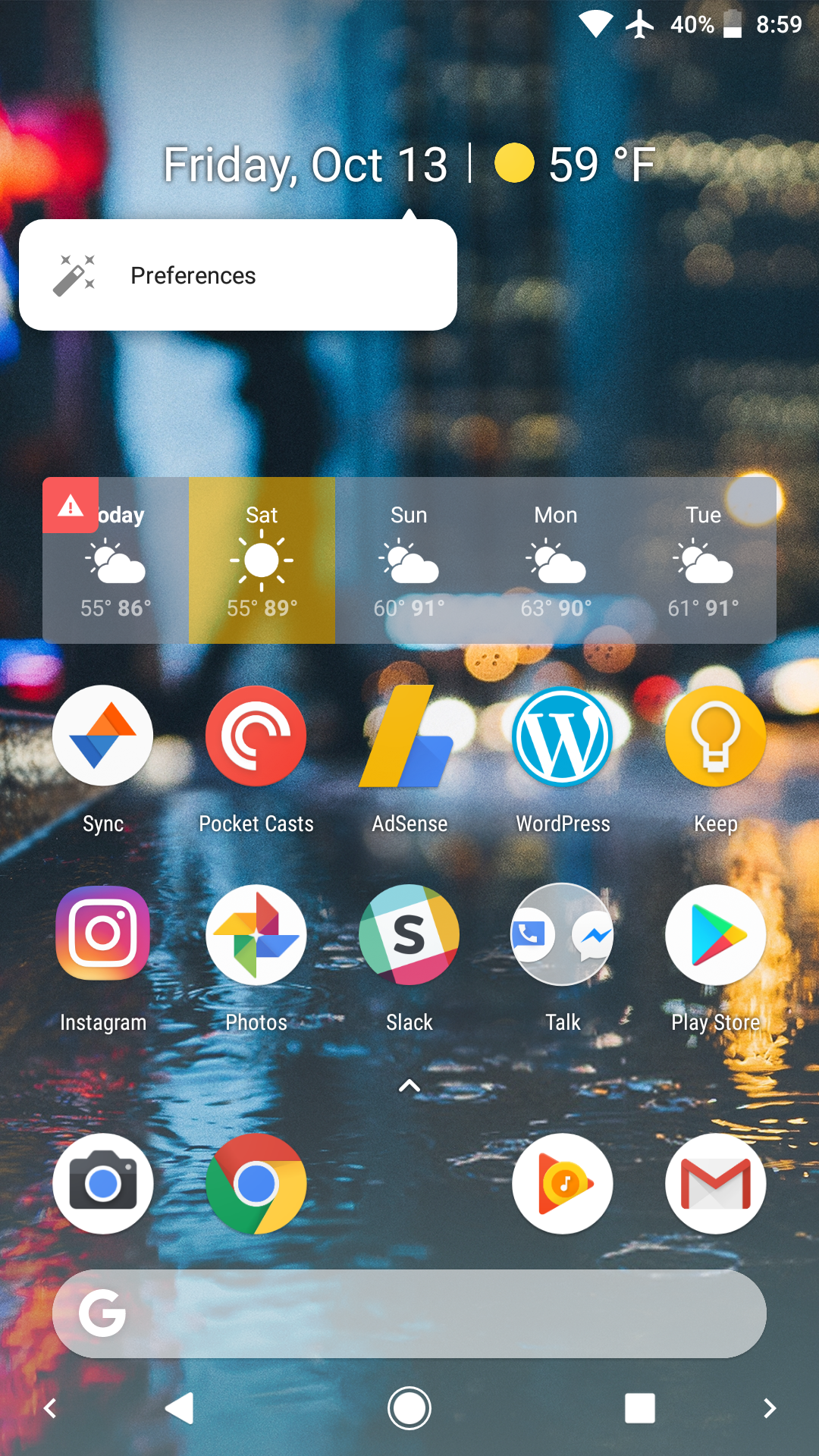 You can now install the Pixel 2's Pixel Launcher w/ bottom Google