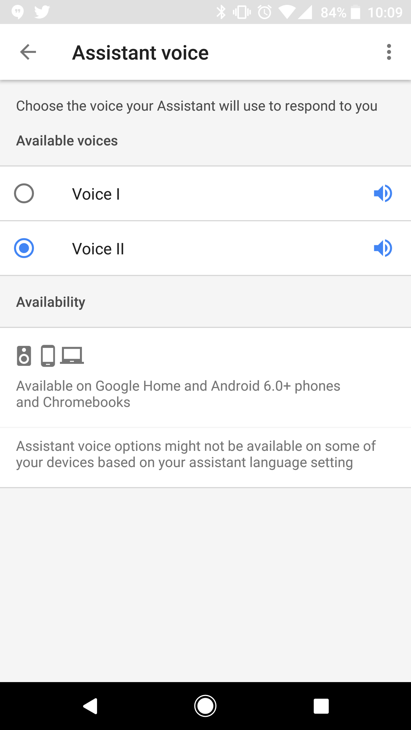 Google Assistant Male Voice