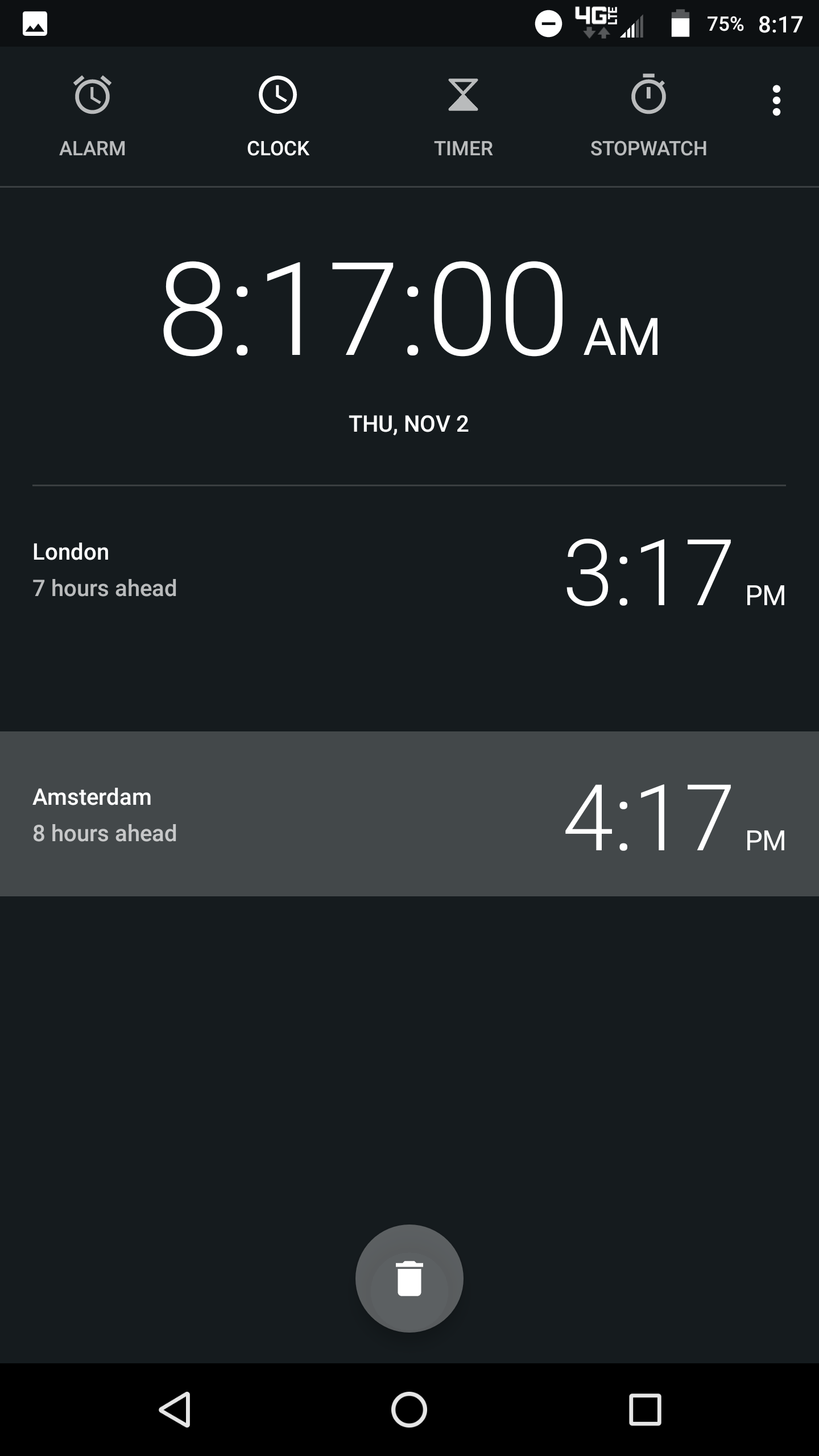 Google Clock 5 2 update adds new icon & tweaked world clocks list w