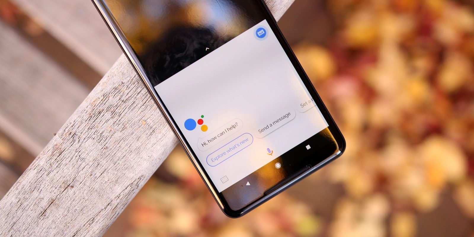 QnA VBage Google Assistant on Android regressing to previous, non-Smart Display-inspired design