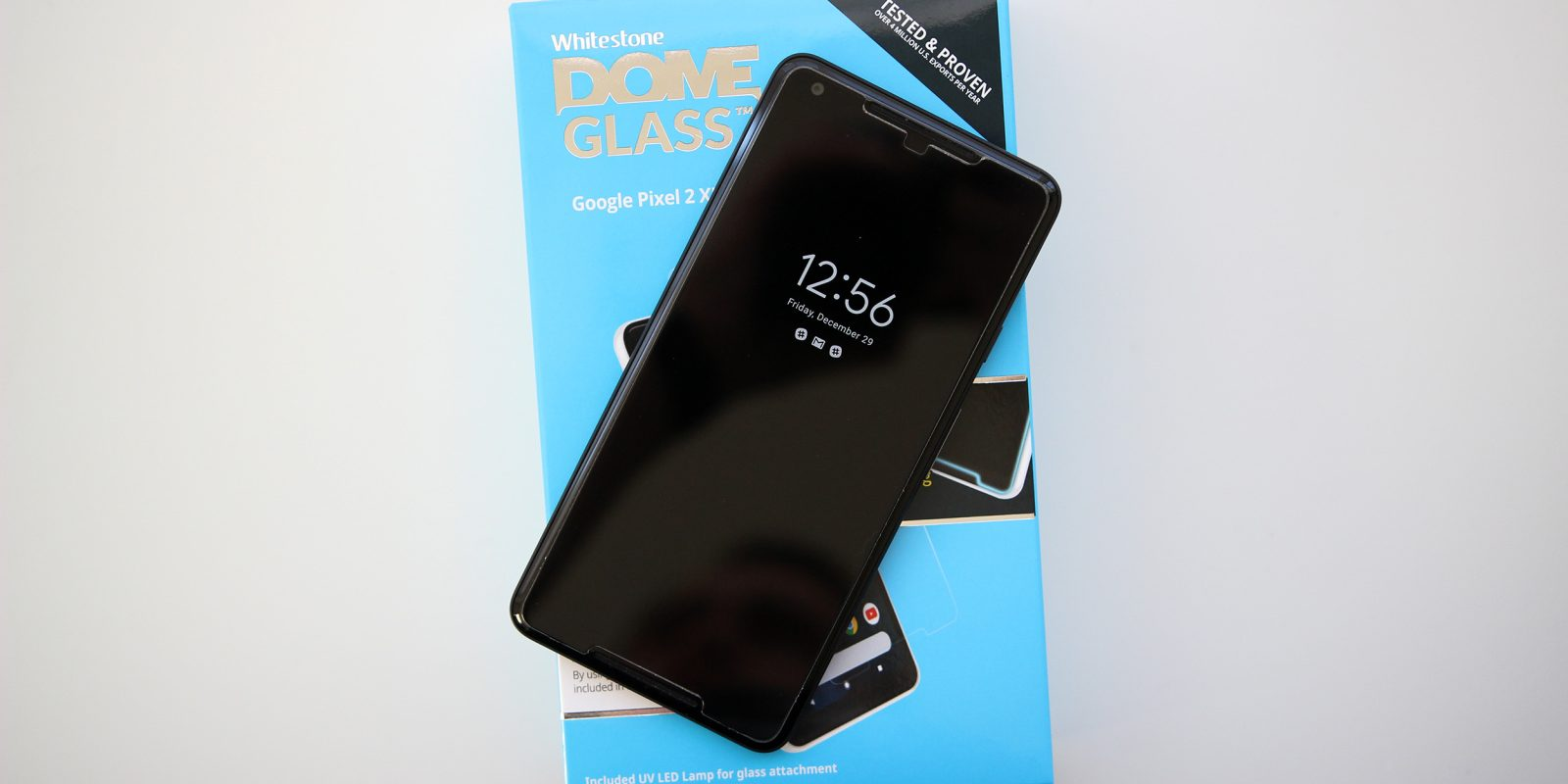 Hands-on: Whitestone Dome Glass makes essentially the perfect screen