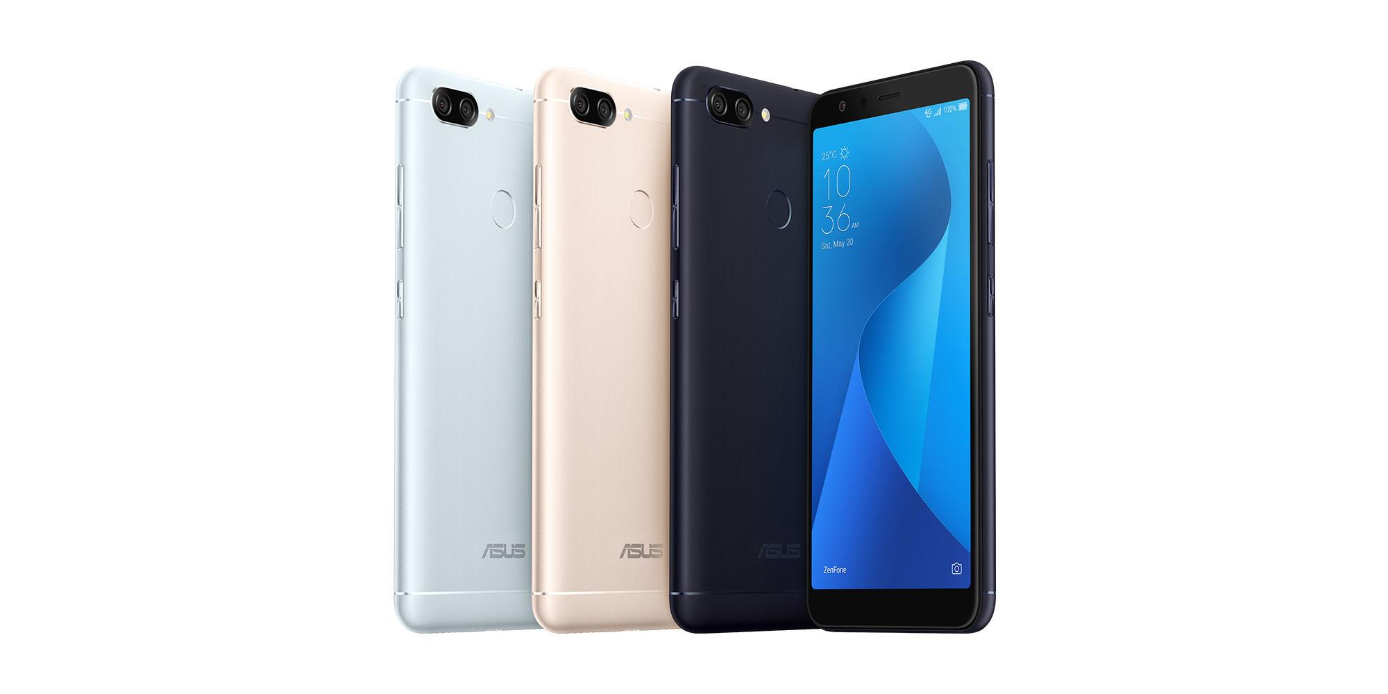 Asus Zenfone Max Plus M1 57 Inch 2160 X 1080 Display Dual Rear