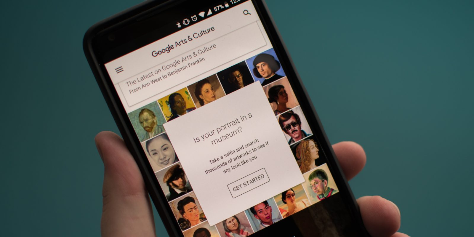 google s arts culture app can compare your selfie to famous pieces
