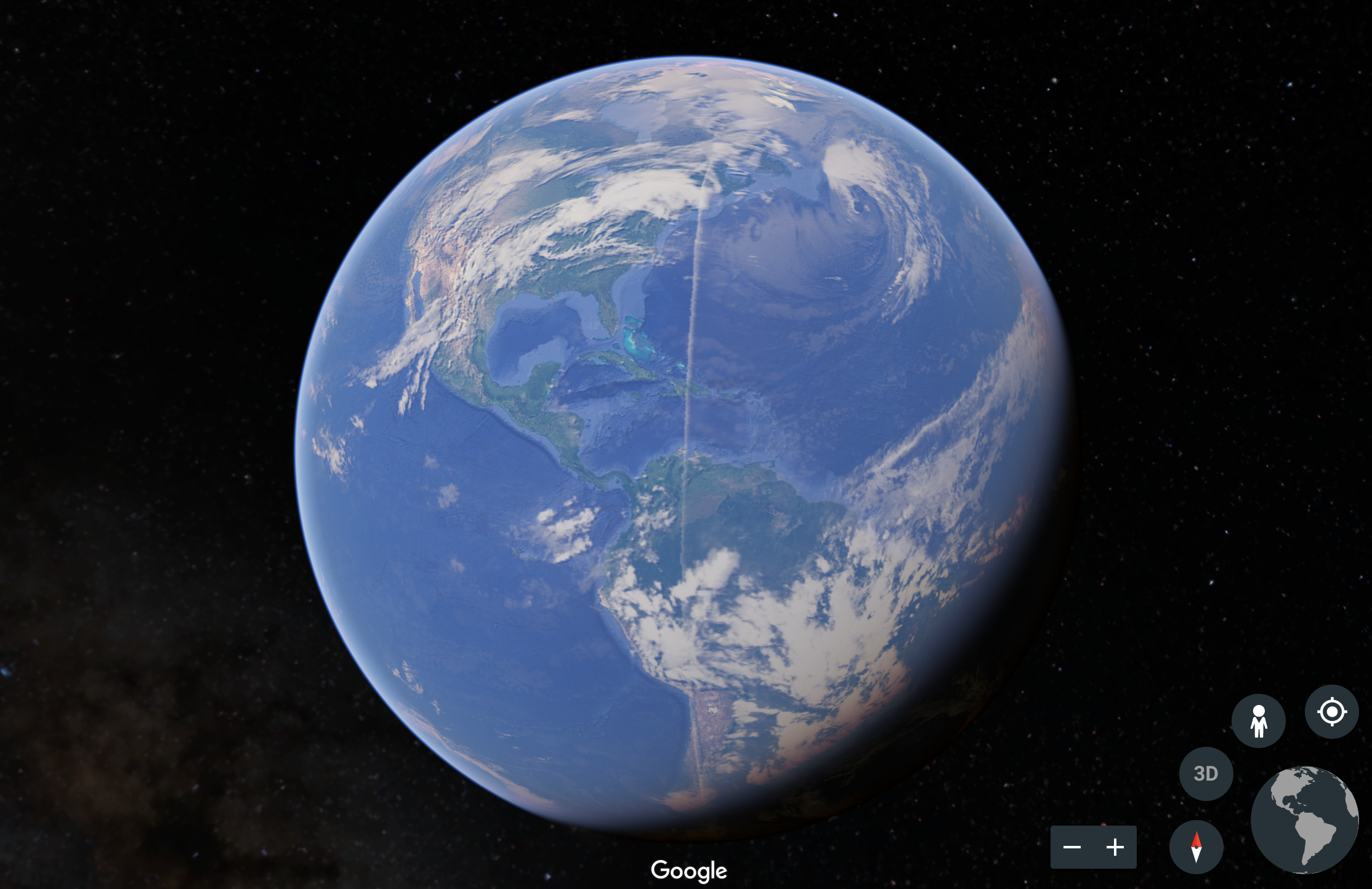 Google Earth Line Bug