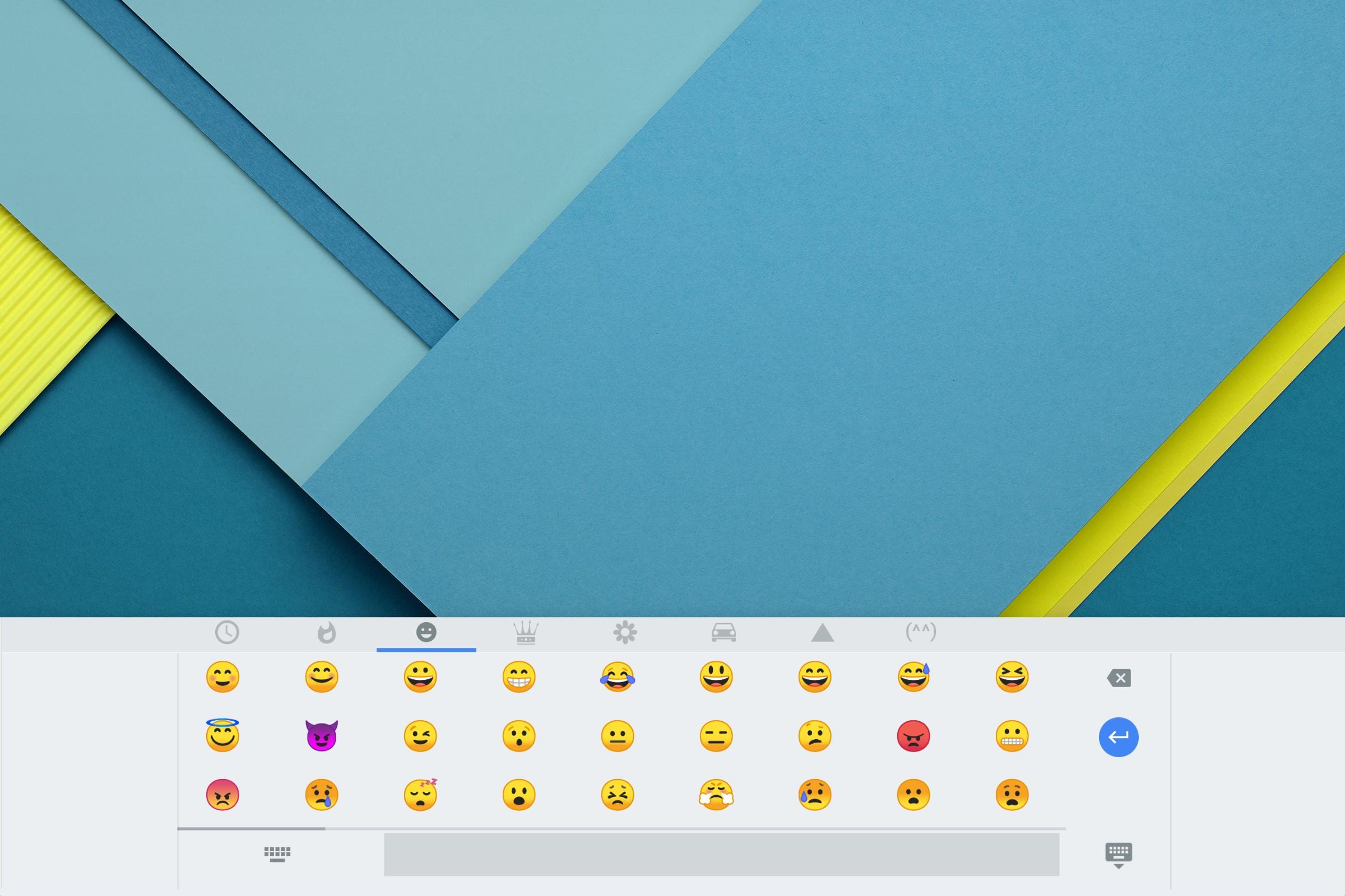 Chrome OS using Emoji 7