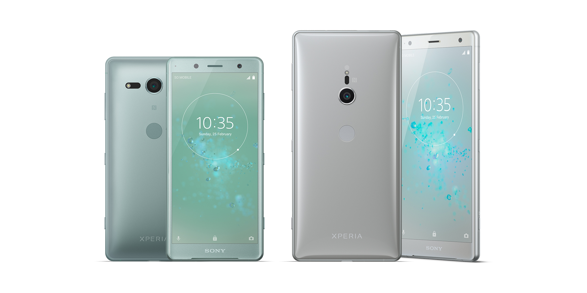 android pie is now rolling out to the sony xperia xz2 and xperia xz2 compact