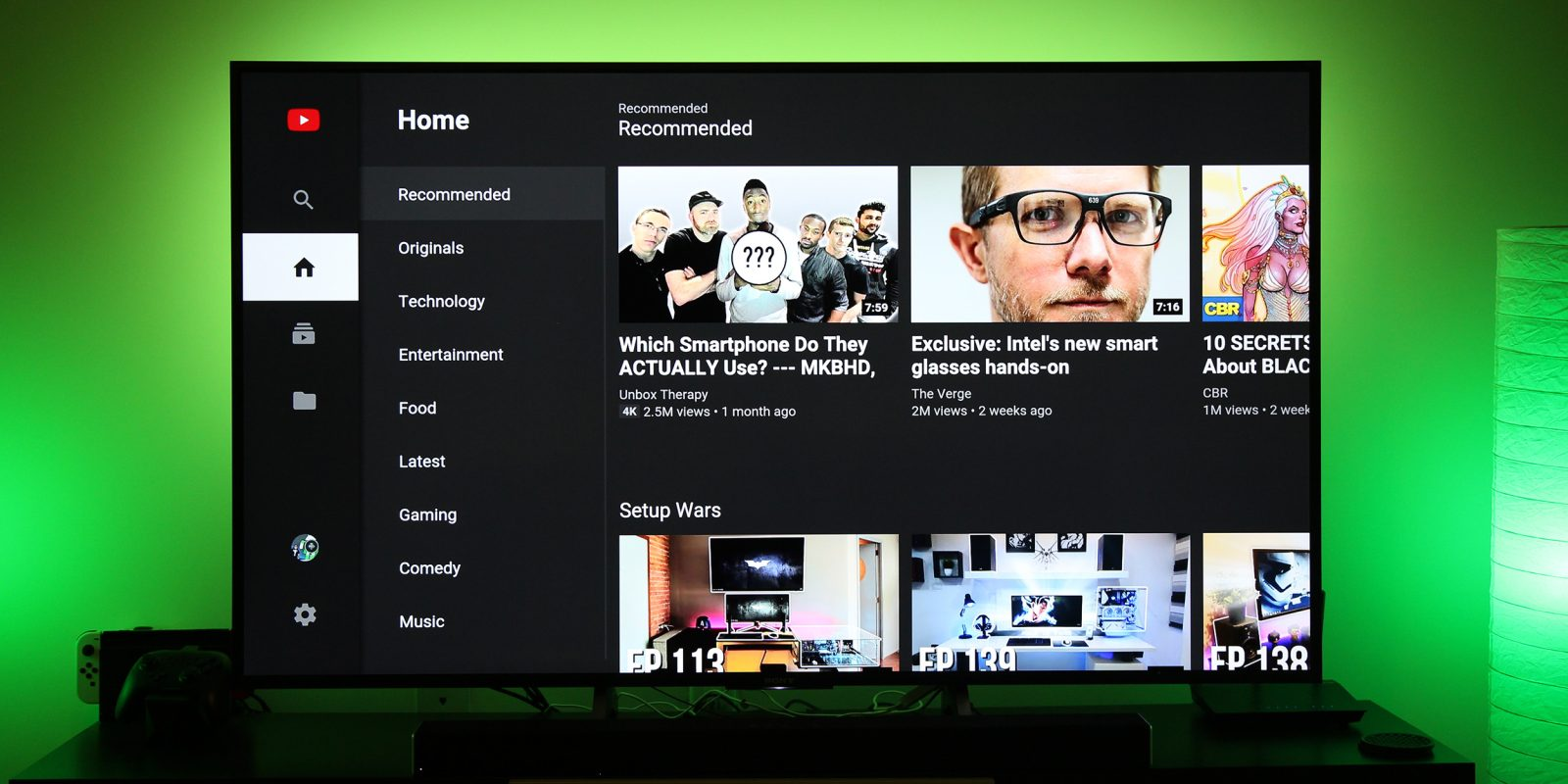 985814ad339 YouTube quietly gets a redesign on Android TV