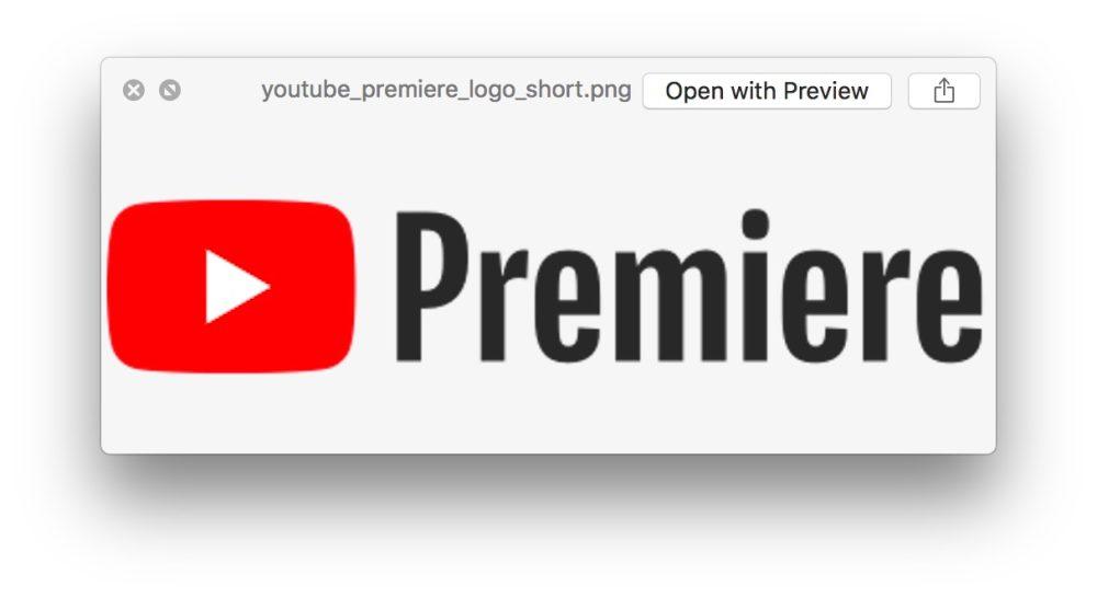 Premiere Youtube