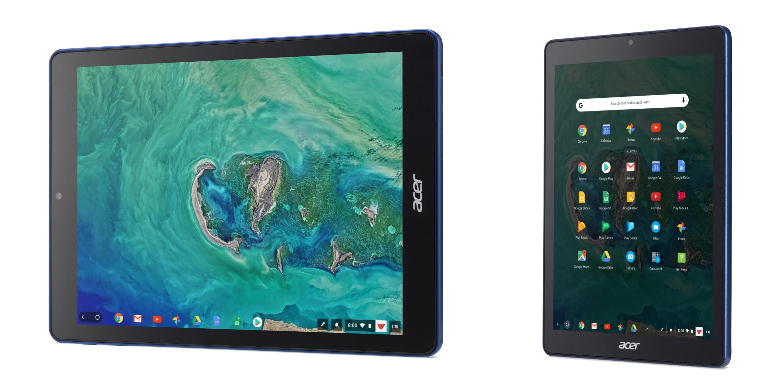 Google debuts Chrome OS tablets to take on the iPad w/ $329 Acer Chromebook Tab 10