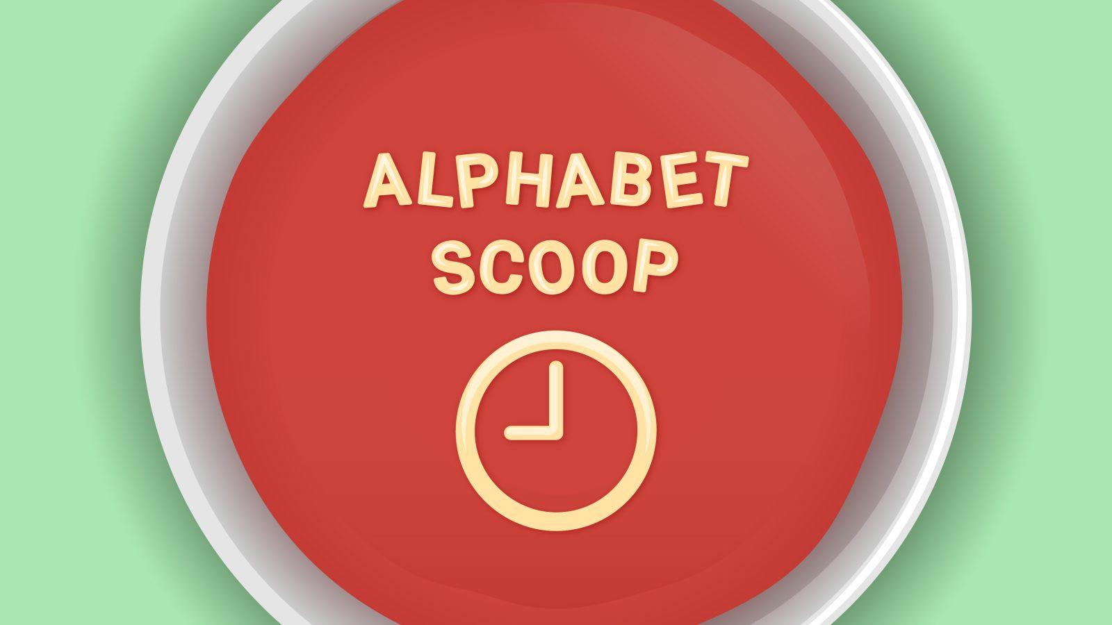Alphabet Scoop 024: Pixelbook 2 puzzle, 'Yeti' game