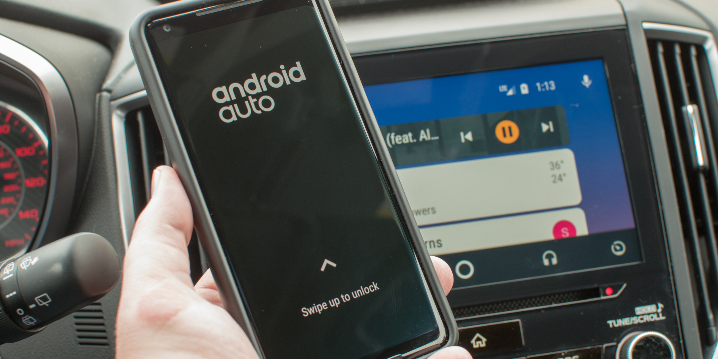 developer hacks together wireless support for an android auto receiver video