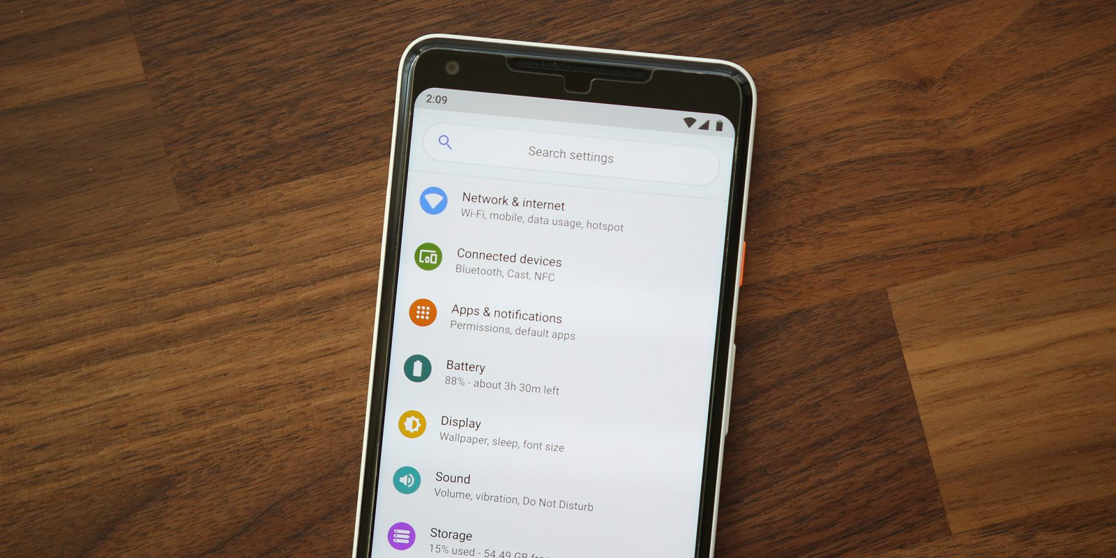 Google Pixel 'Settings Suggestions' uploaded to Play Store