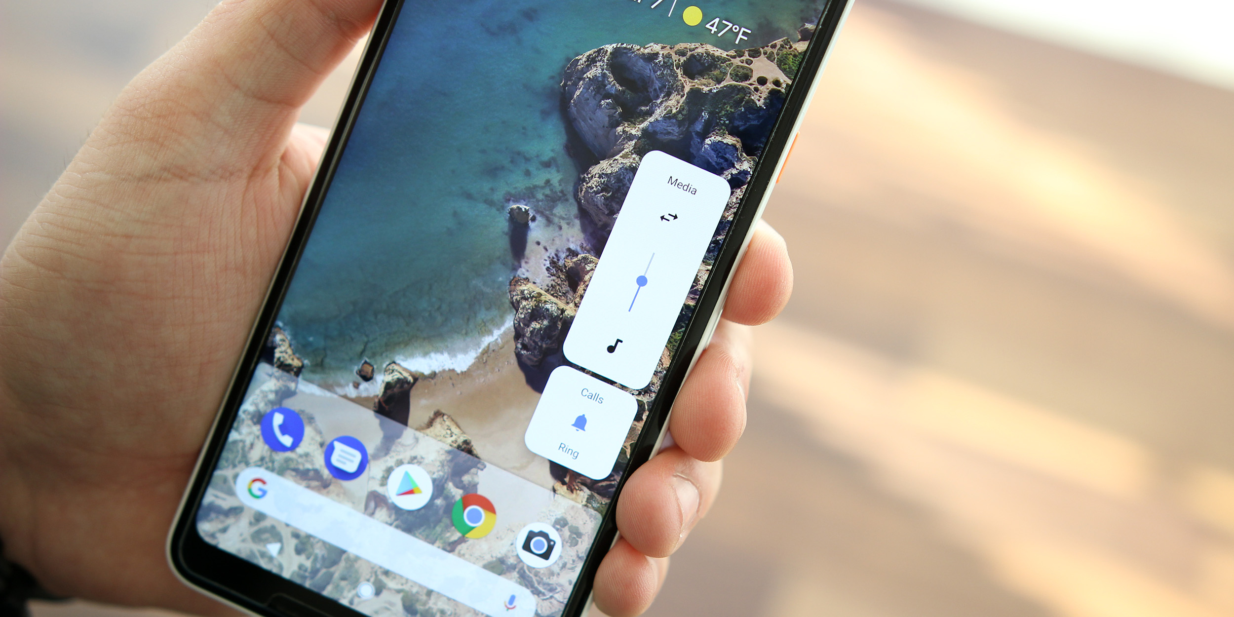 Here's how to bring Android P's volume slider and launcher to older