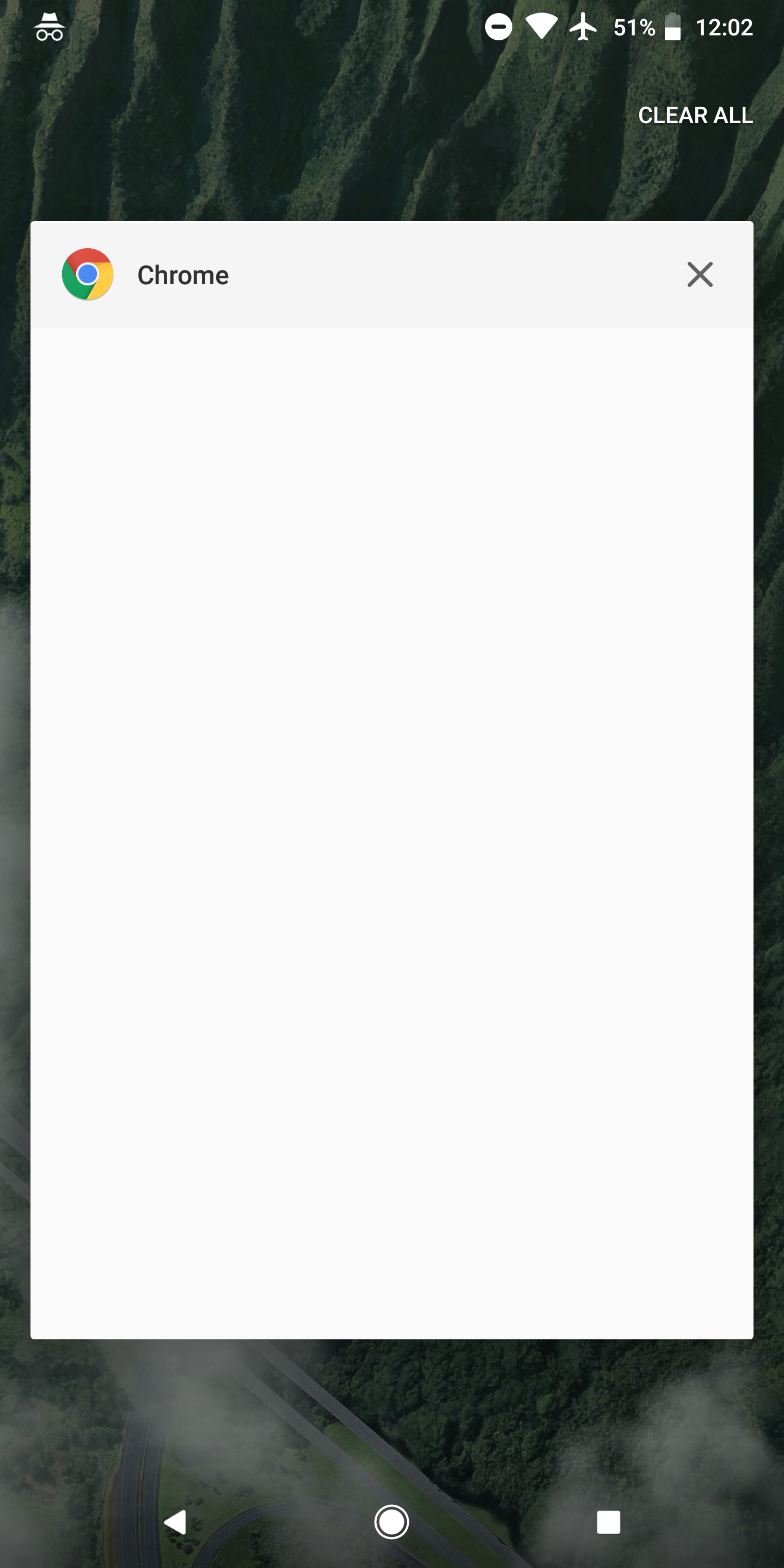 Incognito mode in Chrome 65+ blocks Android screenshots
