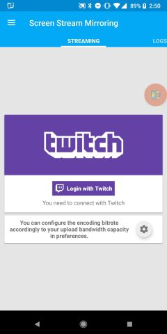 How to stream directly to Twitch live from your Android