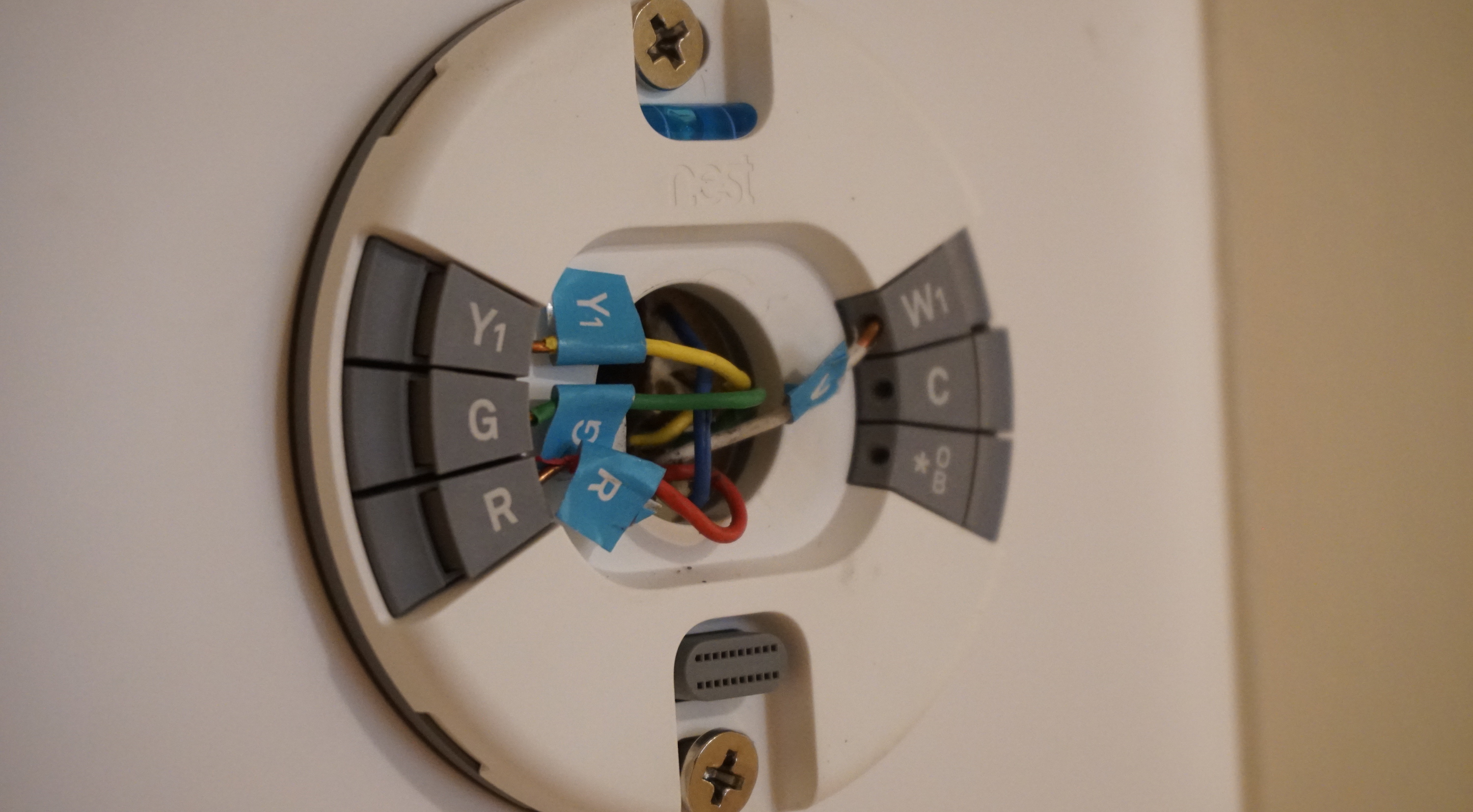 Thermostat E Wire | Nest Diary Set Up Impressions And Review Of The Nest Thermostat E