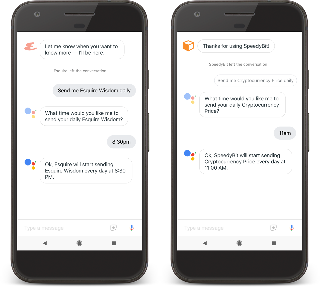 Google Assistant-enabled devices add custom commands as