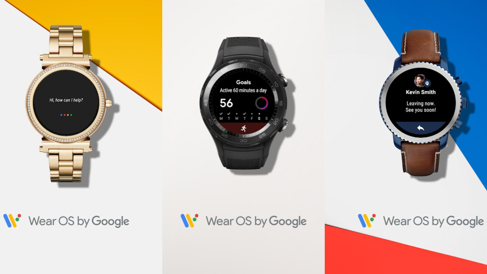 Google officially rebrands Android Wear smartwatches to 'Wear OS'