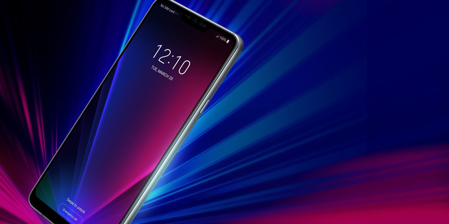 Here's another look at the LG G7 ThinQ with a side-mounted