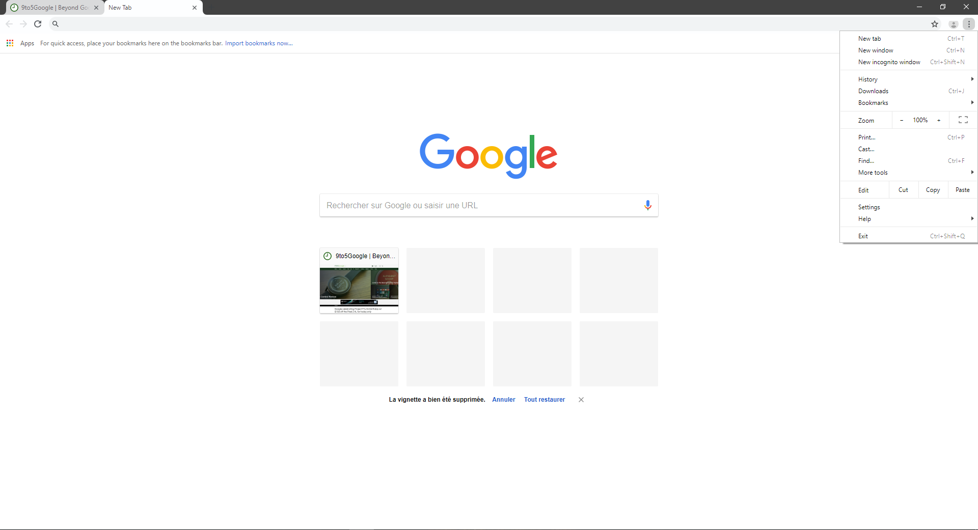 google chrome canary reveals new refreshed material design look