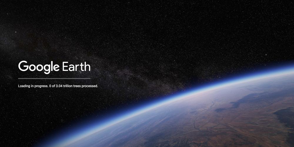 Google Maps Universe on