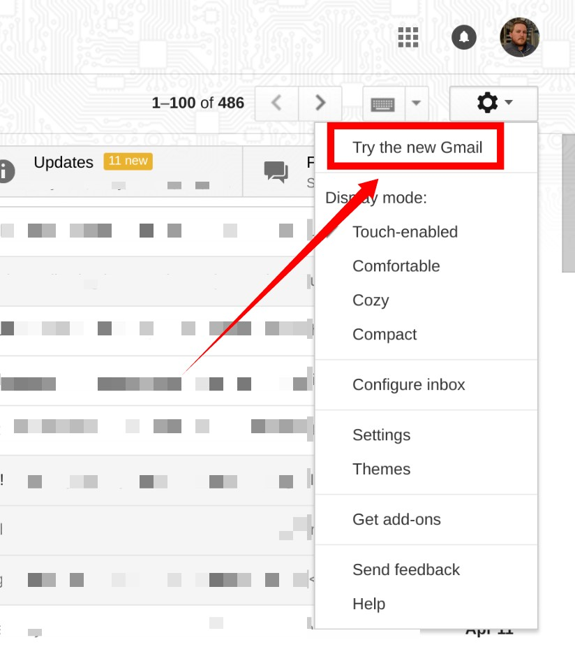 Try the new Gmail