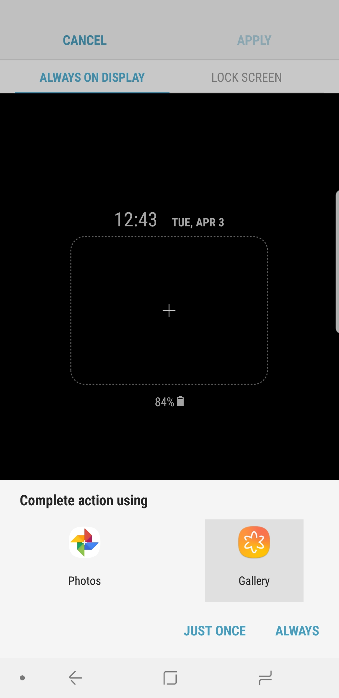 How to add an animated GIF to the Galaxy S9, S8, and Note