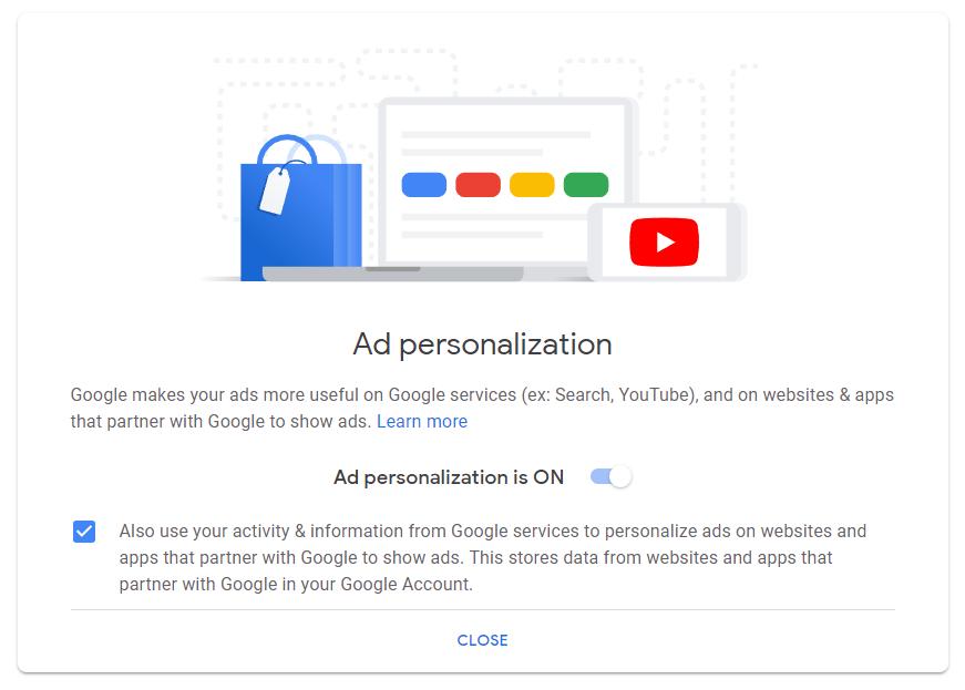 google-ad-personalization