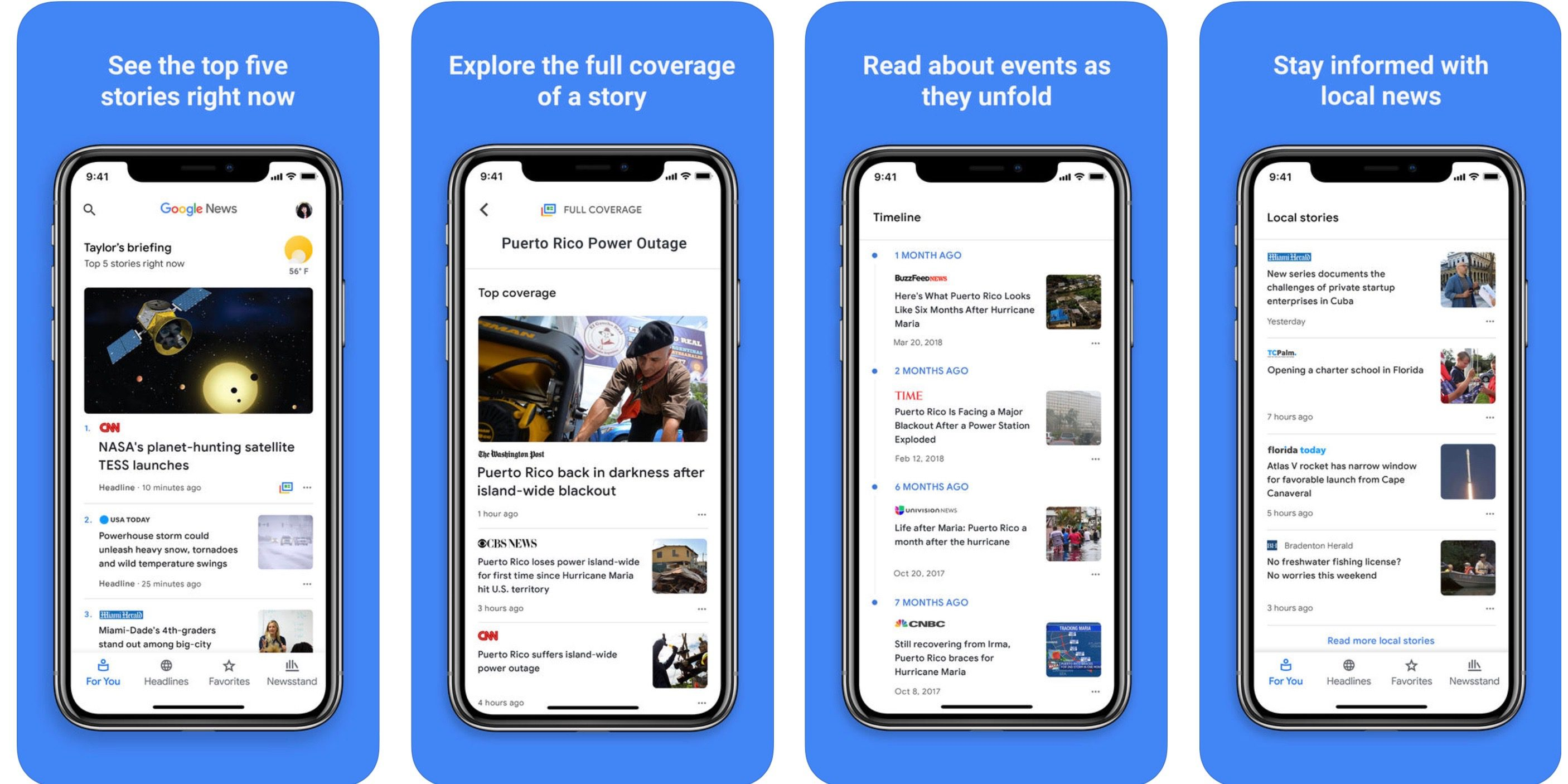 Google Releases Its New Ai Driven Google News App For Iphone And