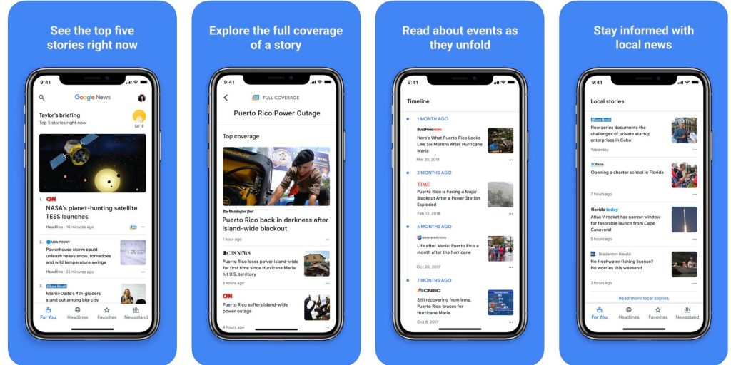 Google releases its new AI-driven 'Google News' app for