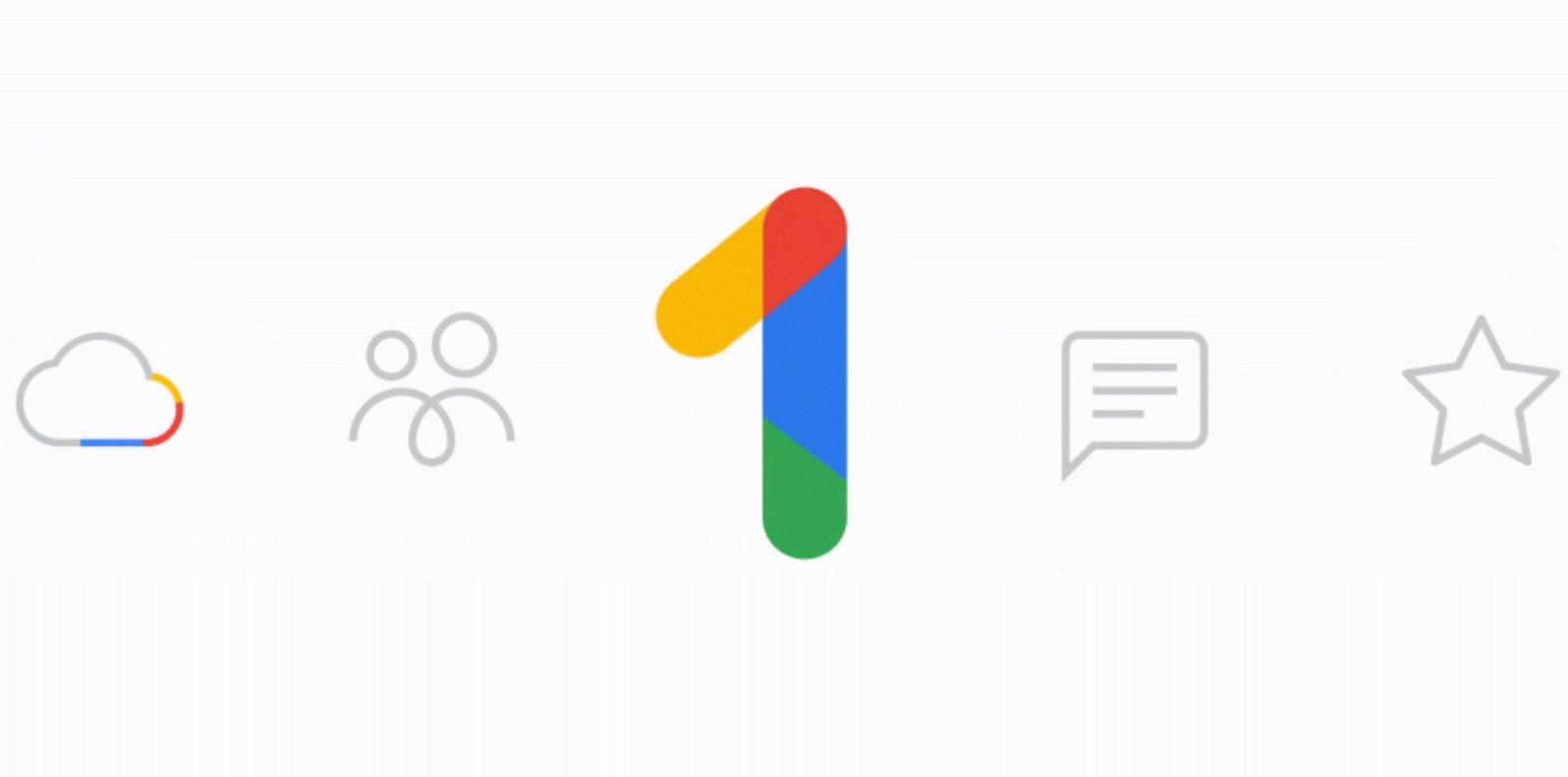 Google One' simplifies cloud storage plans w/ family sharing