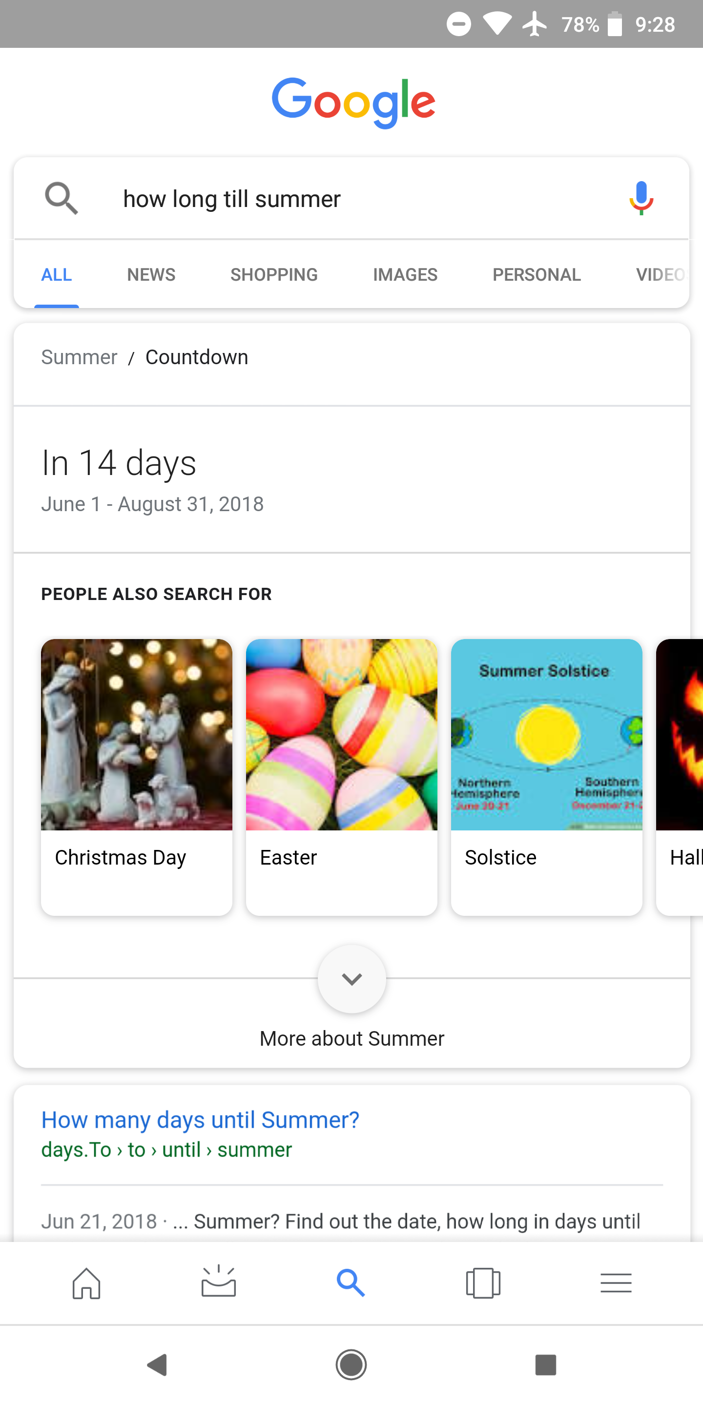 How Many Days Till Christmas Google.Google Search Features A Countdown Timer For Some Notable