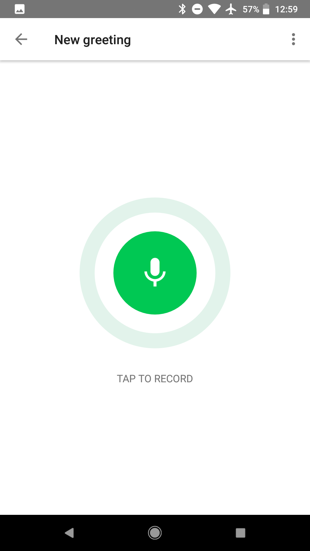 Google voice now lets you record voicemail greetings on android and google voice 5 10 voicemail 1 m4hsunfo