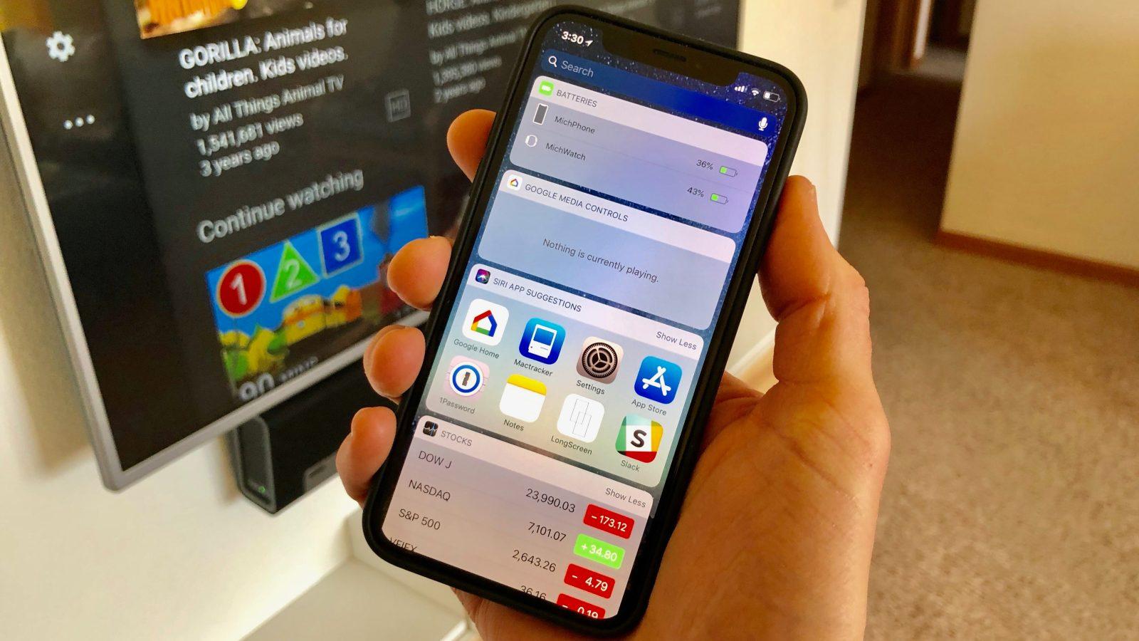 Google updates Home app for iOS with a Chromecast media