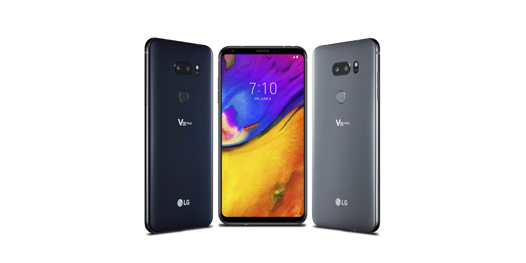 lg v40 thinq allegedly arriving in october w triple camera 90 screen to body ratio