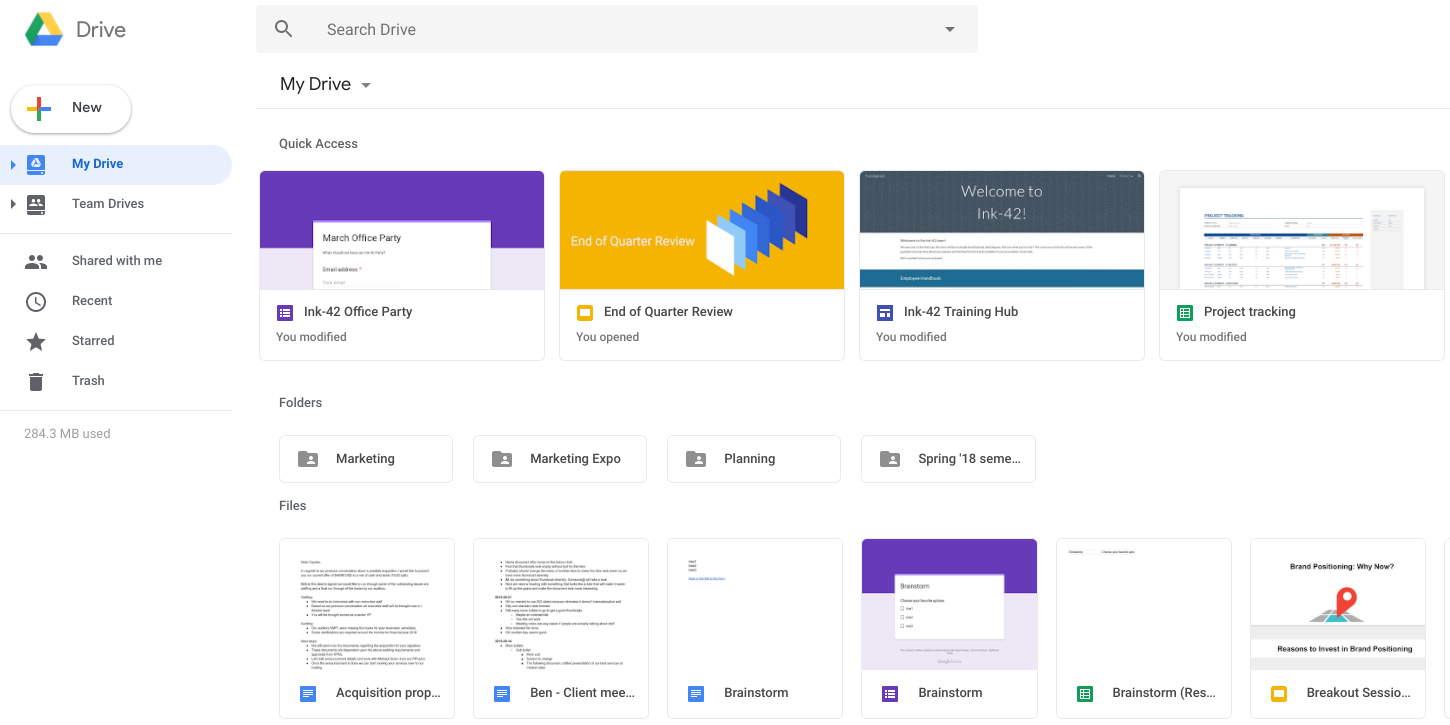 Google rolling out its redesigned Material Theme to Drive on