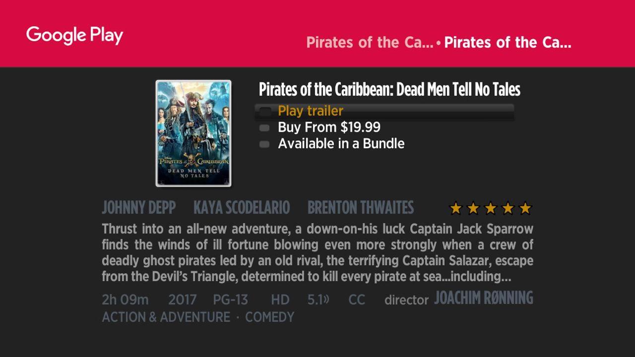 Google revamps Play Movies & TV on Roku w/ simplified design