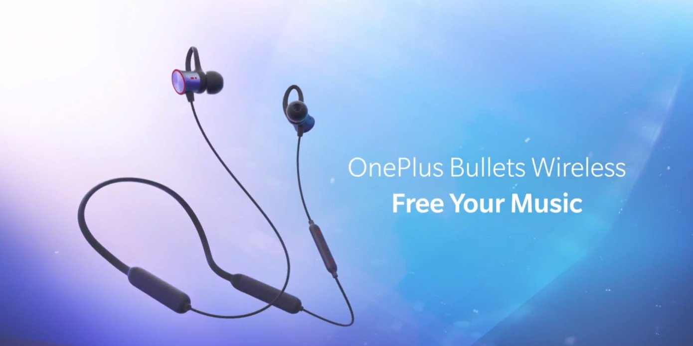 OnePlus Bullets Wireless are wireless neckbuds that feature USB-C ...