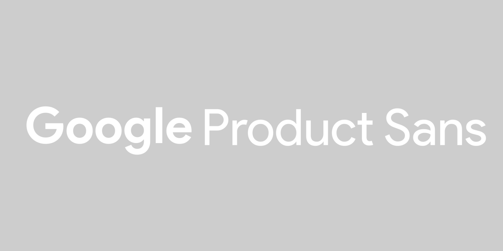 Now we know: Google Sans is actually a size-optimized