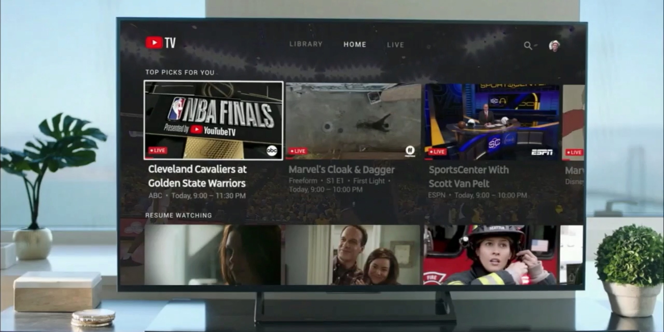 Youtube Tv Advertising During Nba Finals Transitions From Ad To