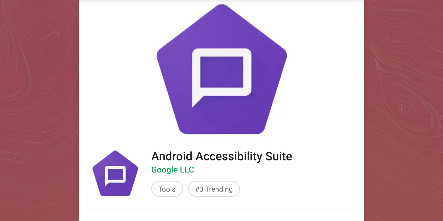 Google renames TalkBack app to Android Accessibility Suite with