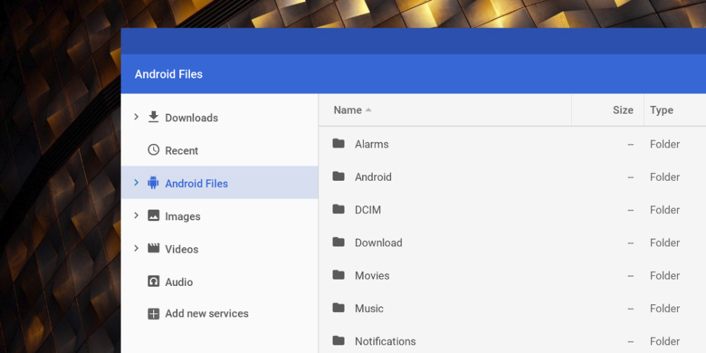 Files app on Chrome OS finally adds a way to manage Android files