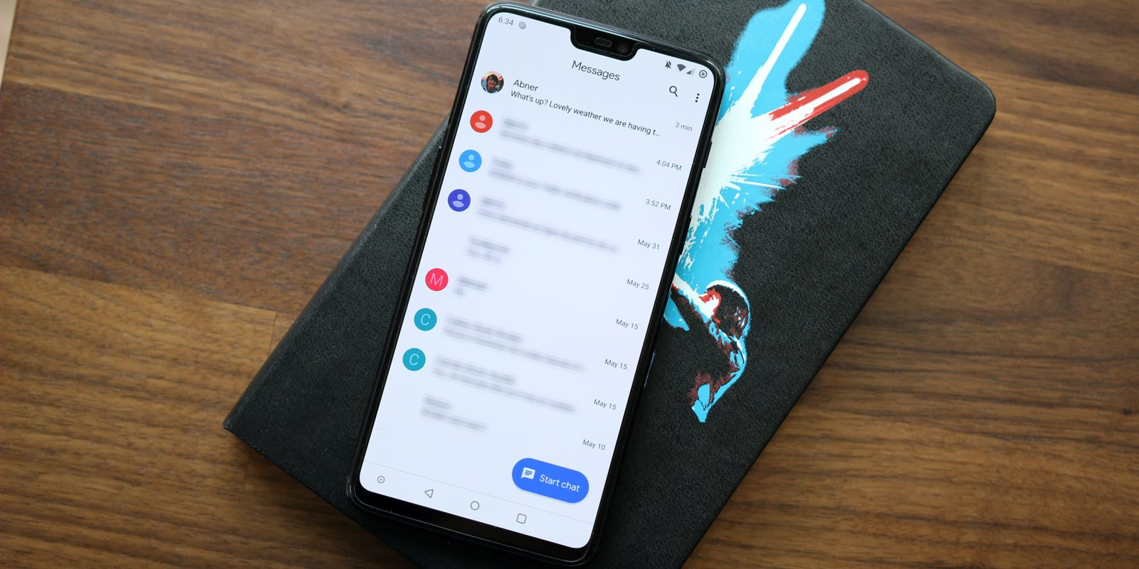 Android Messages 3 5 rolling out w/ Material Theme and dark