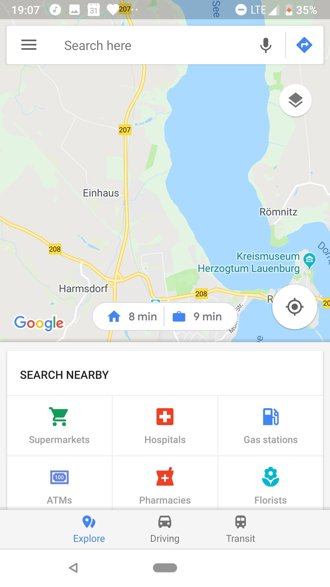 Google Maps testing new shortcuts for directions to home and work ...