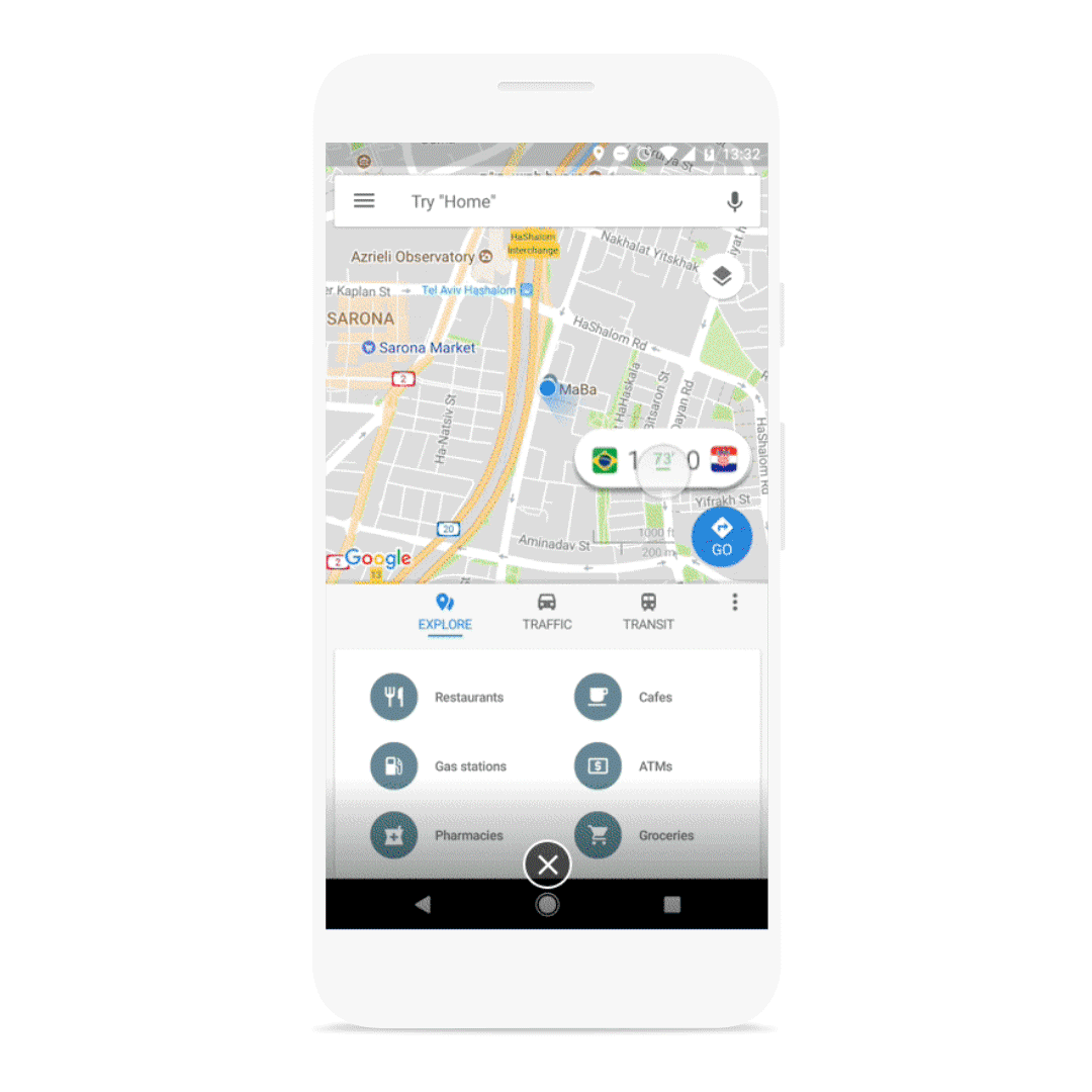 Google adds floating live scores on Android, new Search/News ...