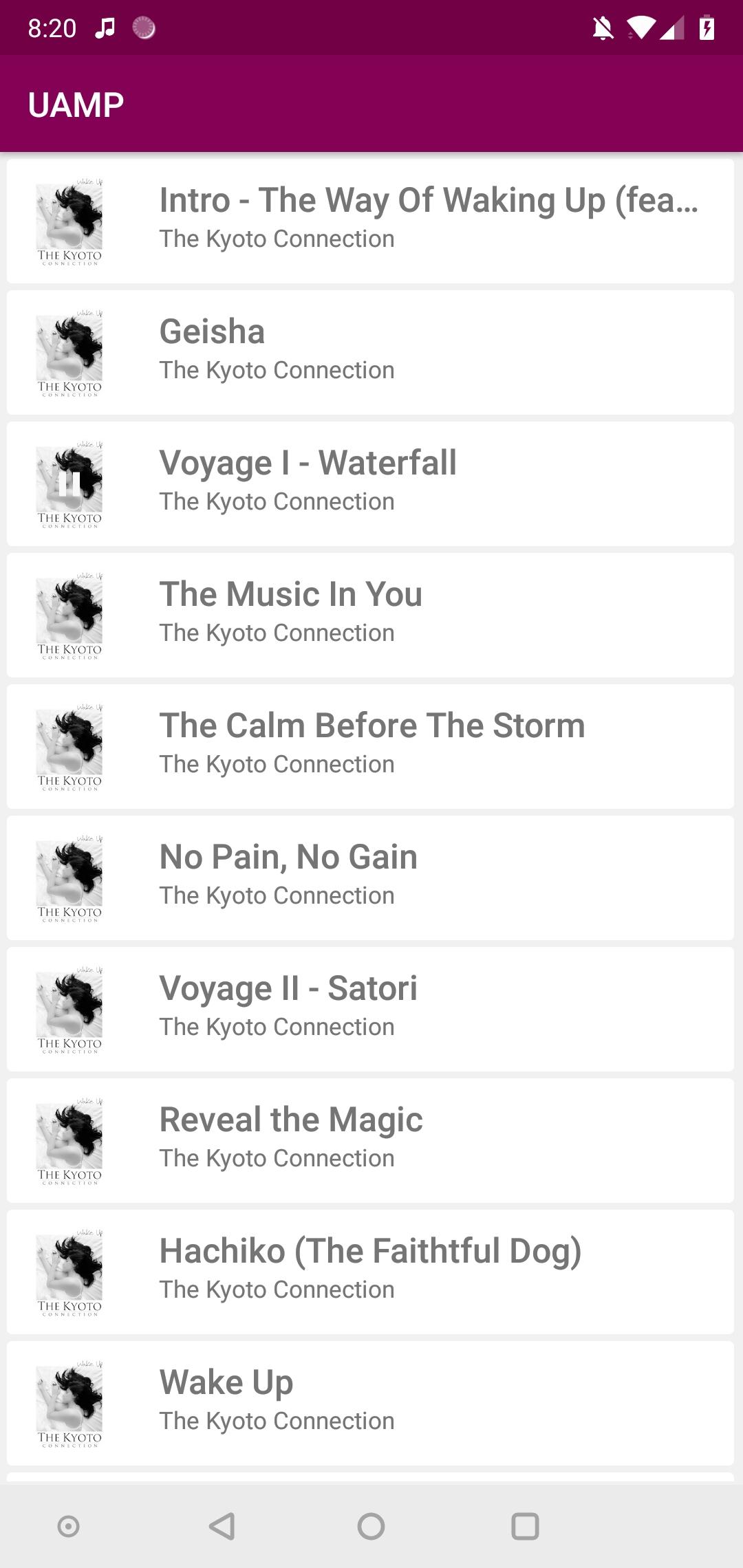 Google updates 'Universal Android Music Player' developer sample app