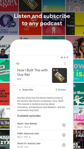 Google Podcasts gets detailed in full ahead of global launch
