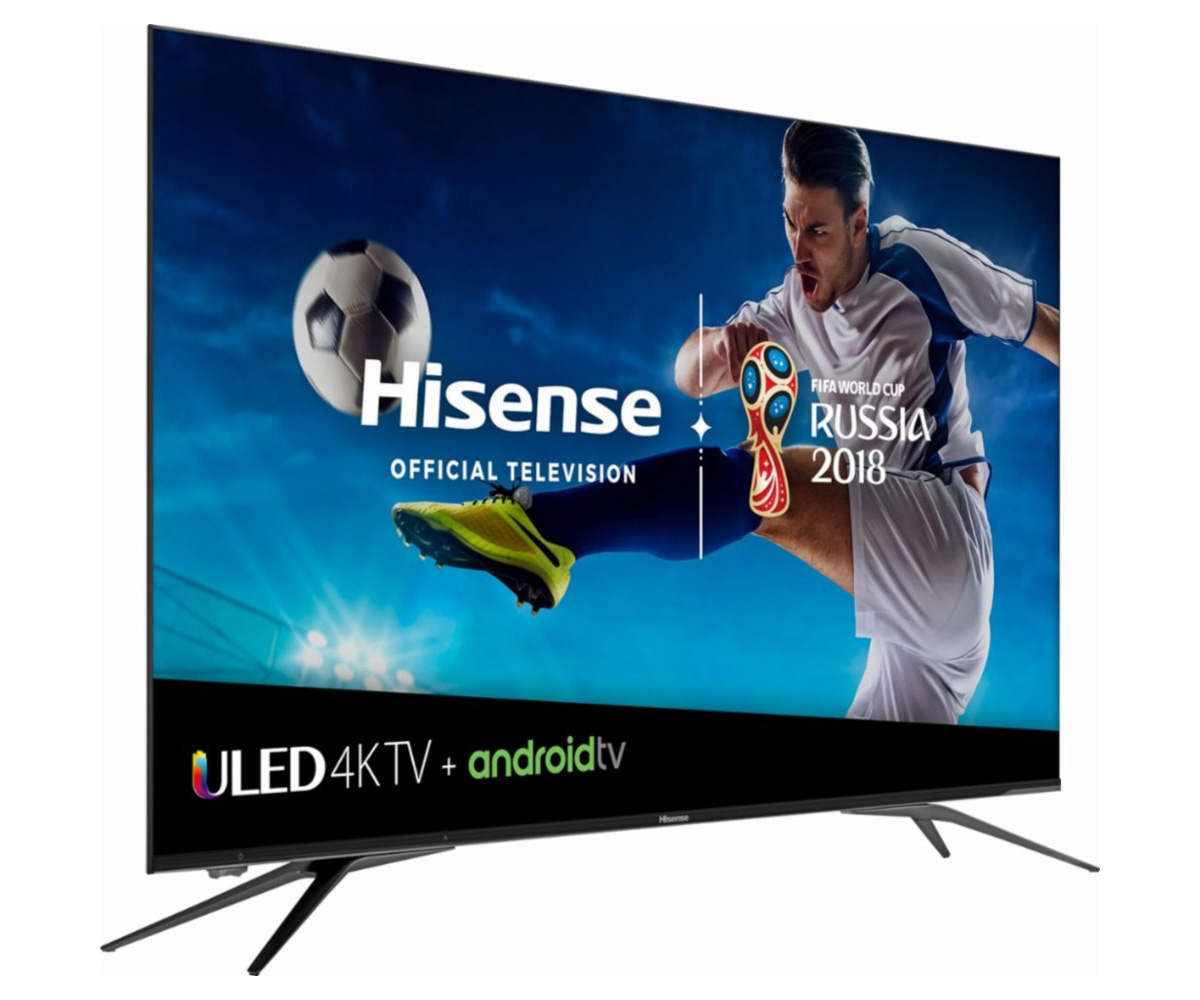 Hisense Debuts 55 Inch And 65 Inch 4k Hdr Tvs With Built In Android