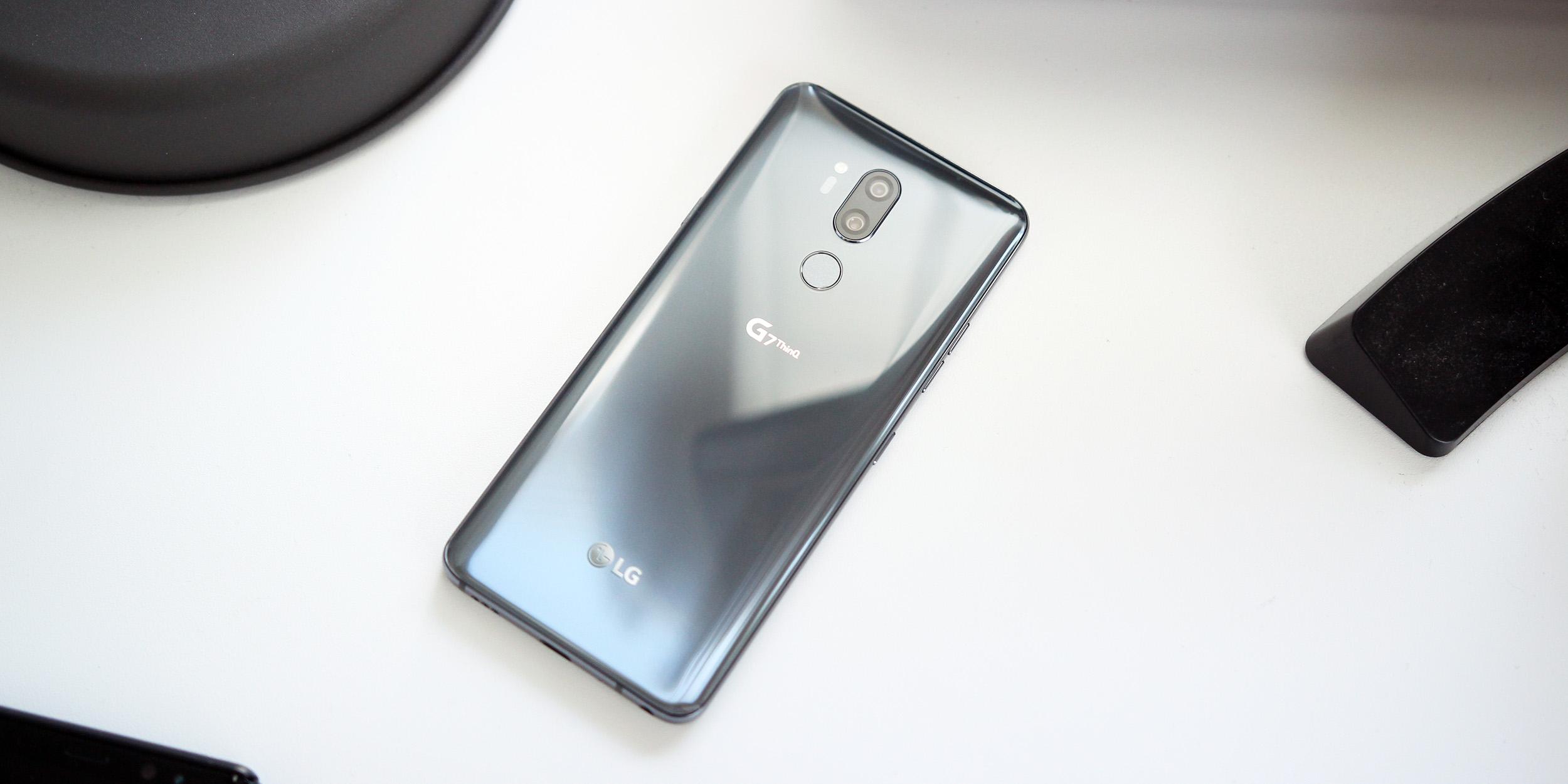 [Update: Jetzt auf T-Mobile] LG G7 ThinQ erhält das lang erwartete Android Pie-Update